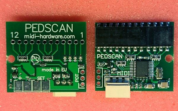 Pedal MIDI controller, small size