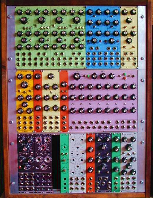 analog modular synthesizer. Black Bedroom Furniture Sets. Home Design Ideas